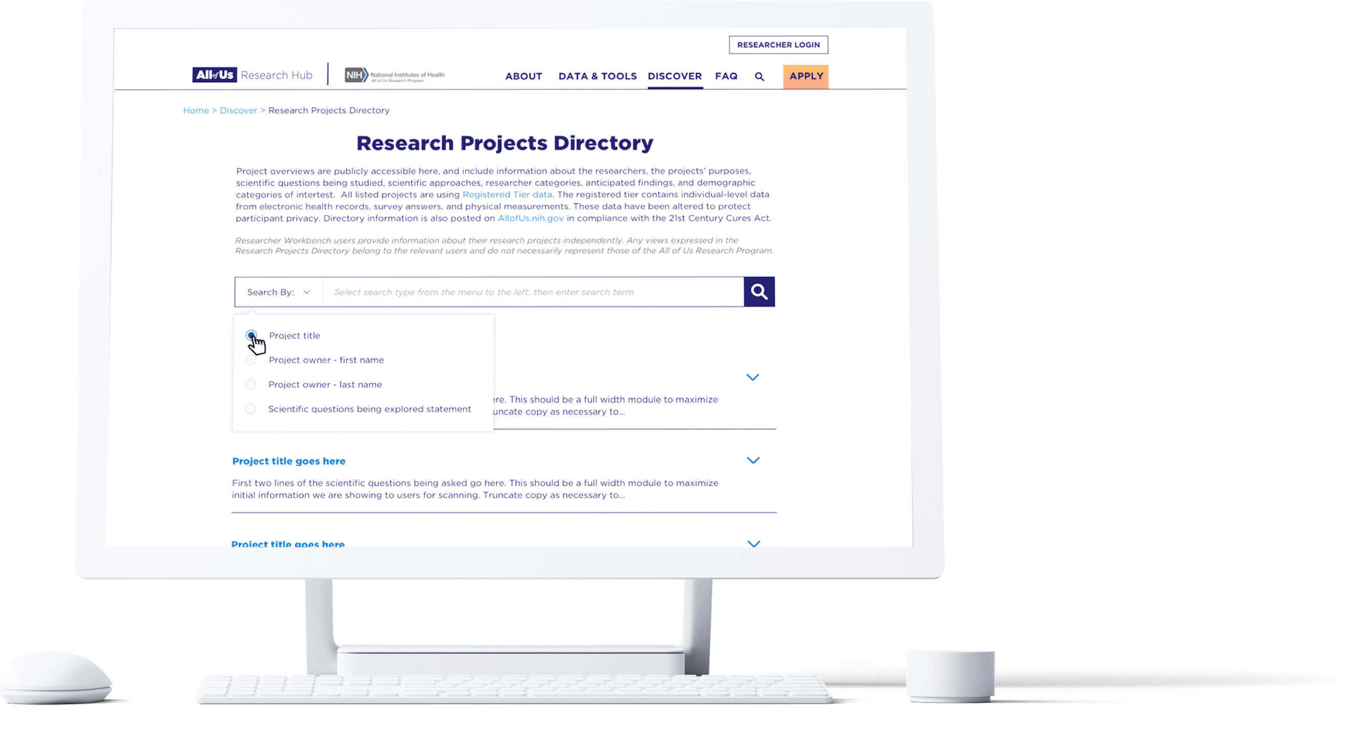 Projects Directory